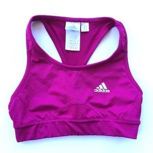 Adidas Athletic Racerback Sports Bra Small Womens